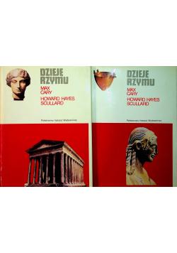 Dzieje Rzymu tom I i II