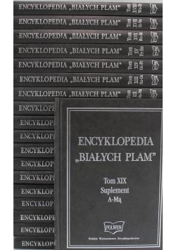 Encyklopedia Białych Plam tomy od 1 do 19