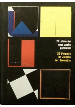 20 plenerów spod znaku geometrii