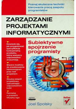 Zarządzanie projektami informatycznymi Subiektywne spojrzenie programisty