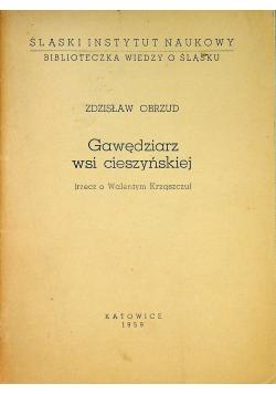 Gawędziarz wsi cieszyńskiej