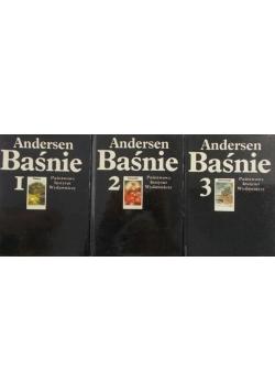 Andersen Baśnie  3 tomy
