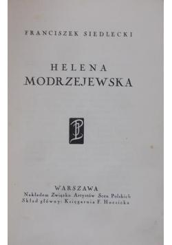 Helena Modrzejewska 1927 r