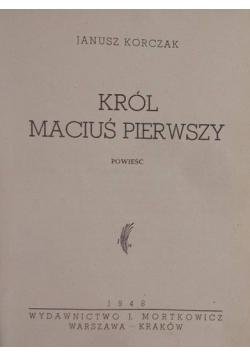 Król Maciuś pierwszy 1948 r
