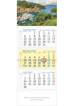 Kalendarz 2022 trójdzielny KT 10 Widok