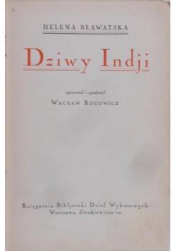 Dziwy Indji ok 1925 r