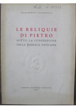 La Relique Di Pietro