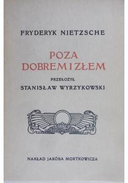 Poza dobrem i złem reprint z 1912 r