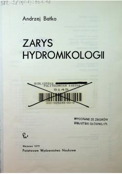 Zarys hydromikologii