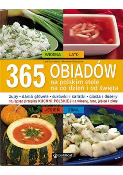 365 obiadów na polskim stole Na co dzień i od święta