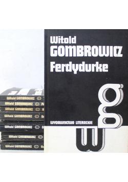 Gombrowicz dzieła 8 tomów
