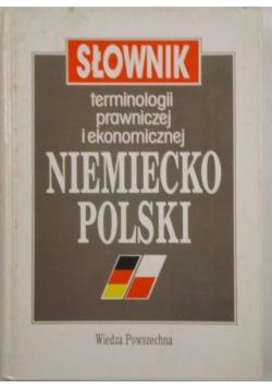 Słownik terminologii prawniczej i ekonomicznej niemiecko polski