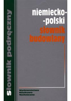 Niemiecko polski słownik budowlany