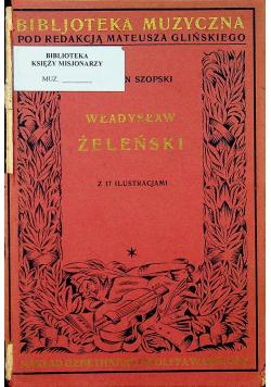 Władysław Żeleński 1928 r