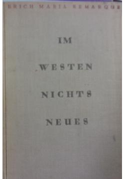 Im westen nichts neues 1929r