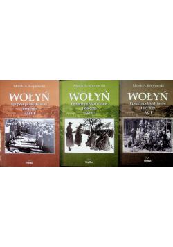 Wołyń 3 tomy