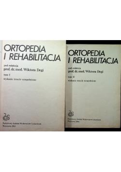 Ortopedia i rehabilitacja 2 tomy