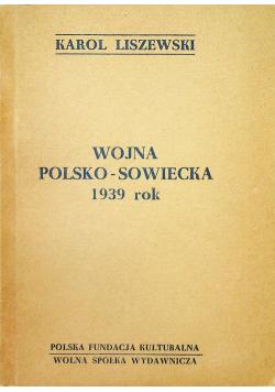 Wojna polsko sowiecka 1939 rok