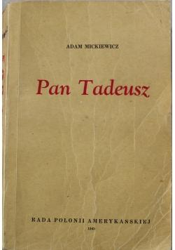 Pan Tadeusz 1945 r