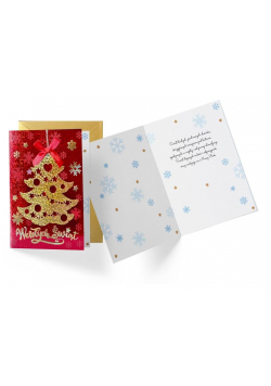 Karnet B6 DK-872 Boże Narodzenie
