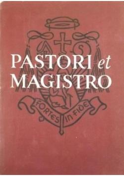 Pastori et Magistro