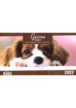 Kalendarz 2022 Biurkowy Galileo Psy CRUX