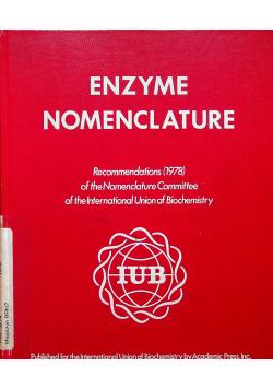 Enzyme nomenclature