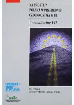 Na prostej Polska w przededniu członkostwa w UE