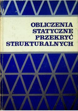 Obliczenia statyczne przekryć strukturalnych