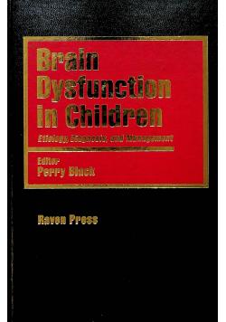 Brain Dysfunction in Children