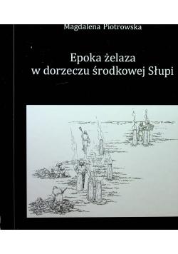 Epoka żelaza w dorzeczu środkowej Słupi plus CD