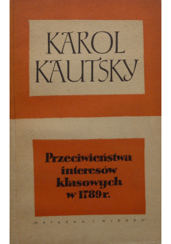 Przeciwieństwo interesów klasowych w 1789 r