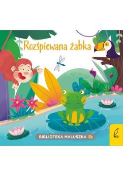 Biblioteka maluszka Rozśpiewana żabka