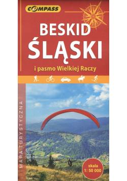 Beskid Śląski i Pasmo Wielkiej Raczy mapa turystyczna 1:50 000