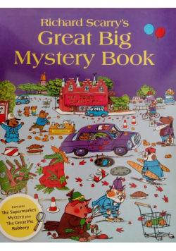 Great Big Mystery Book