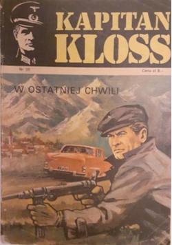Kapitan Kloss Nr 20 W ostatniej chwili