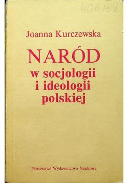 Naród w socjologii i ideologii polskiej