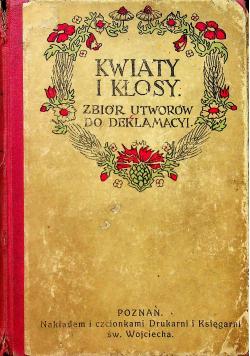 Kwiaty i kłosy 1909 r.