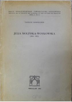 Julia Molińska Woykowska 1816 - 1851