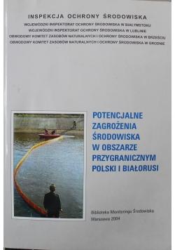 Potencjalne zagrożenia środowiska w obszarze przygranicznym Polski i Białorusi