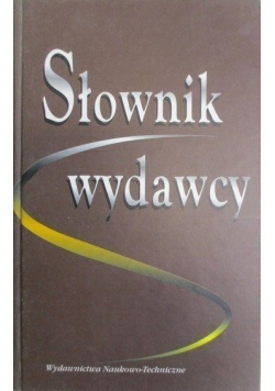 Słownik wydawcy