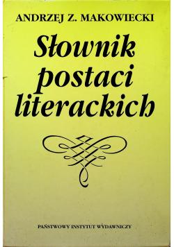 Słownik postaci literackich