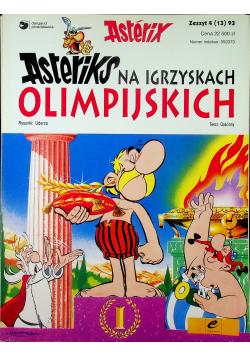Asteriks na igrzyskach olimpijskich Zeszyt 4