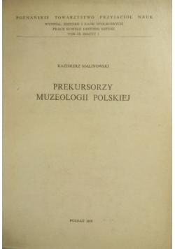 Prekursorzy muzeologii polskiej