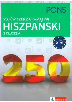 250 ćwiczeń z gramatyki Hiszpański z kluczem