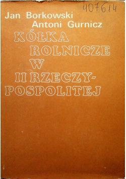 Kółka rolnicze w II Rzeczypospolitej