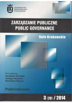 Zarządzanie Publiczne 3(29)/2014 Koło Krakowskie