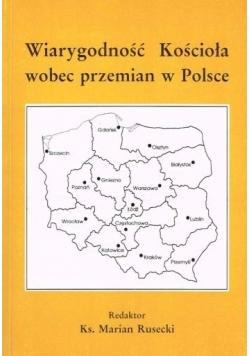Wiarygodność Kościoła wobec przemian w Polsce
