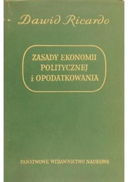 Zasady ekonomii politycznej i opodatkowania