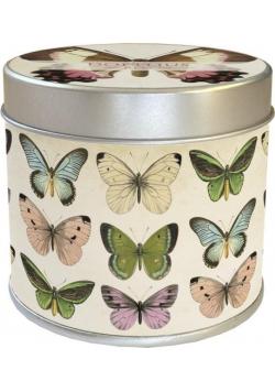 Zapachowa świeczka 50 - motyle - zapach róż